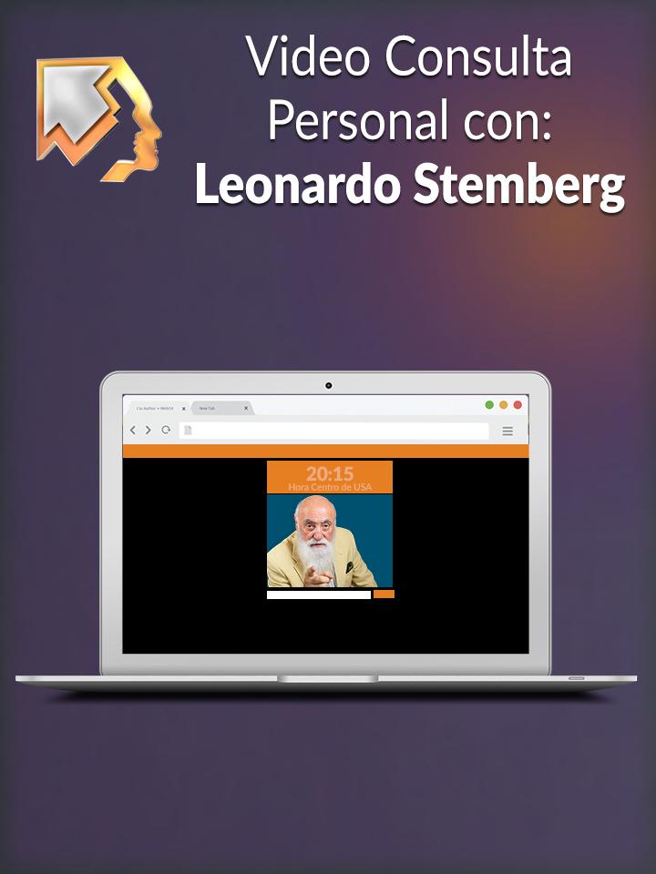 Video consultas personales con Leonardo Stemberg